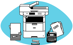 PRINTING, SCANNING, FAXING AND LABELLING